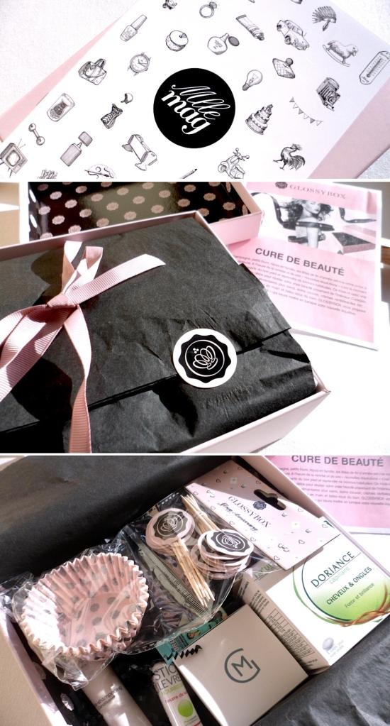Revue Glossybox Janvier 2014 - Cure de Beauté -