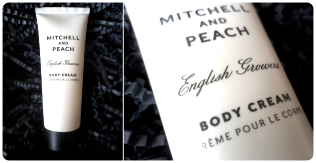 Mitchell and peach body cream