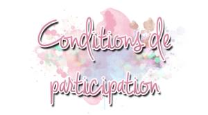 Conditions de participation